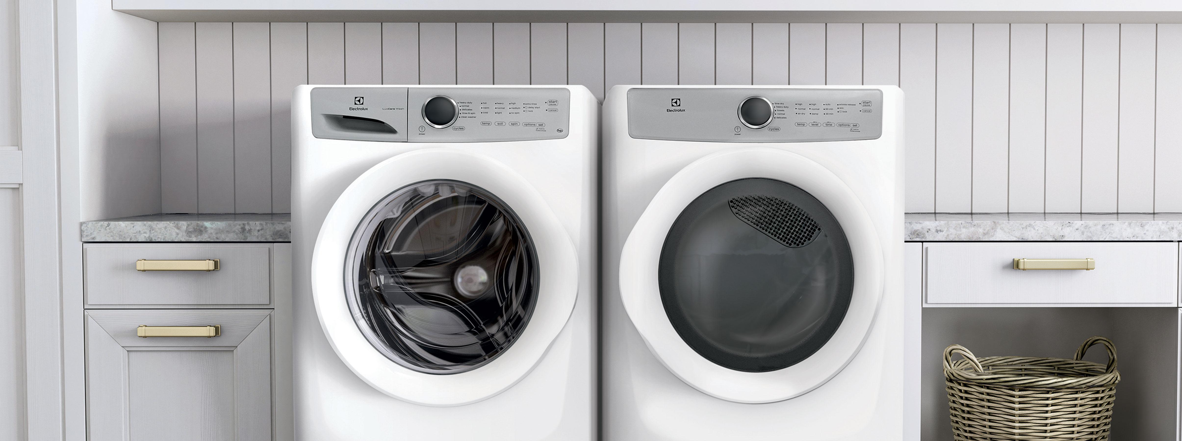 Ensemble laveuse-sécheuse
