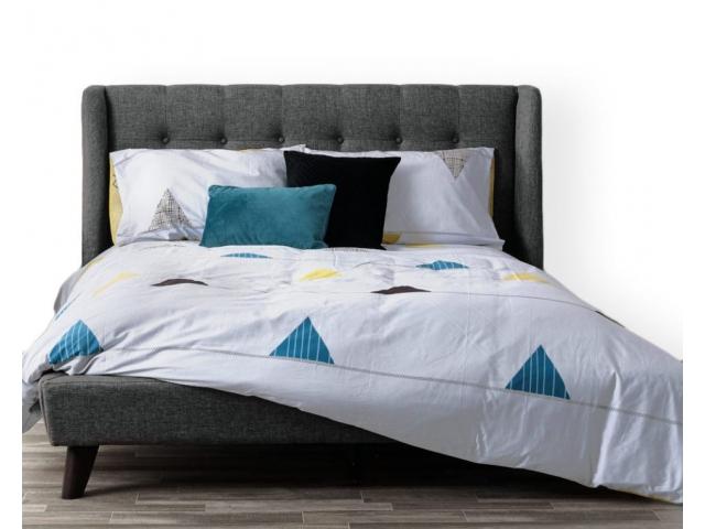 Housse lit simple et 2 cache oreillers